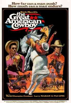 The Great American Cowboy: la locandina del film