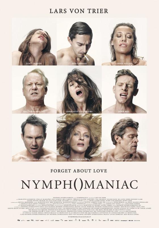 The Nymphomaniac - Part 1: la locandina ufficiale italiana