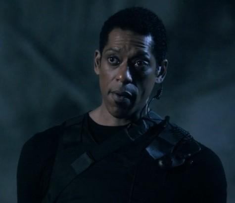 Sleepy Hollow - Orlando Jones nell'episodio Necromancer (prima stagione)