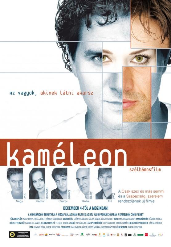 Kaméleon: la locandina del film