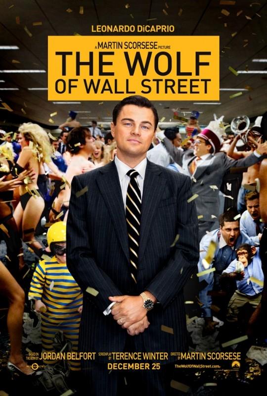 The Wolf of Wall Street: la nuova locandina del film