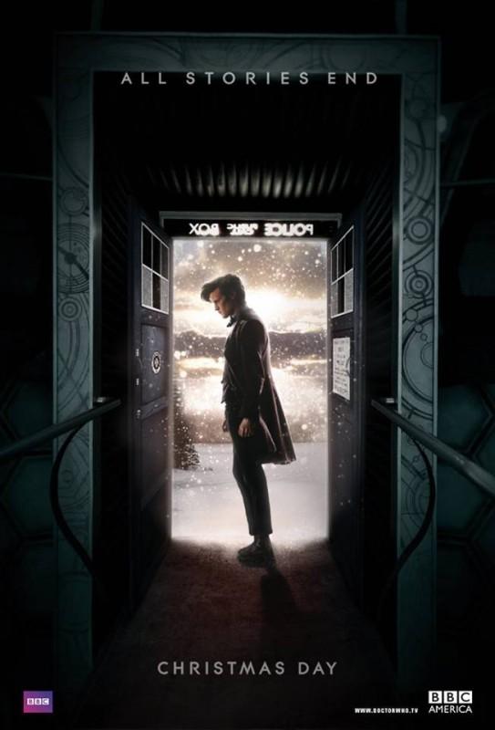 Doctor Who: un poster per lo speciale Natalizio del 2013