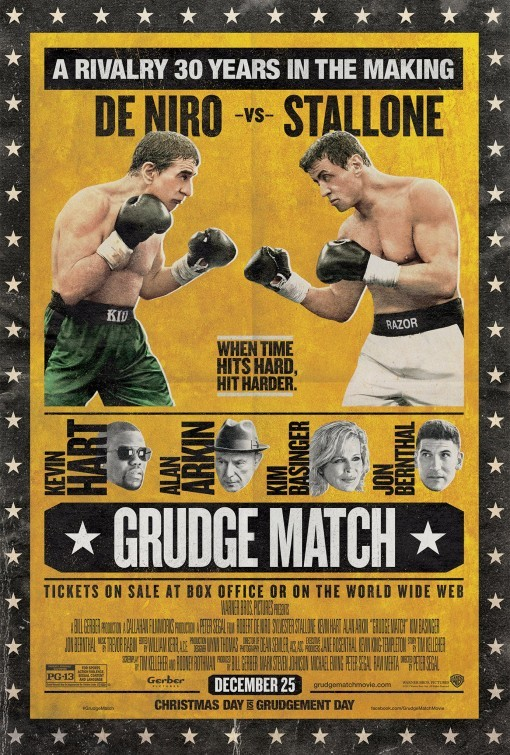 Grudge Match: nuovo poster USA