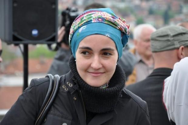 la regista Aida Begic in una foto promozionale