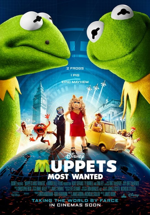 Muppets Most Wanted: nuovo poster USA