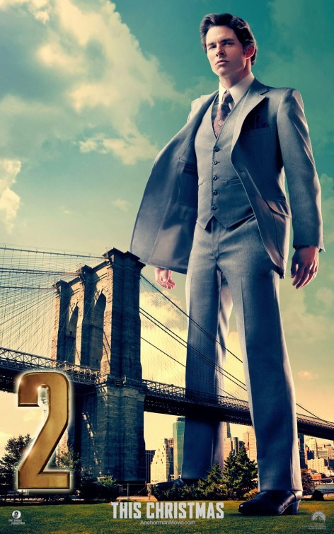 The Anchorman 2: il character poster di James Marsden