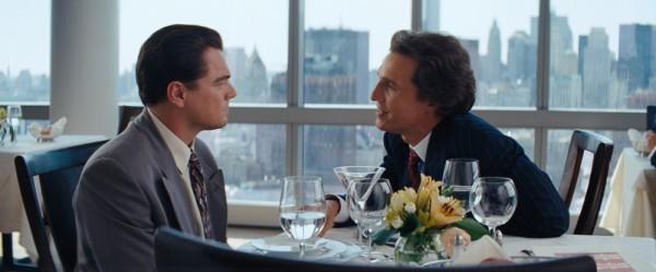 The Wolf of Wall Street: Leonardo DiCaprio e Matthew McConaughey