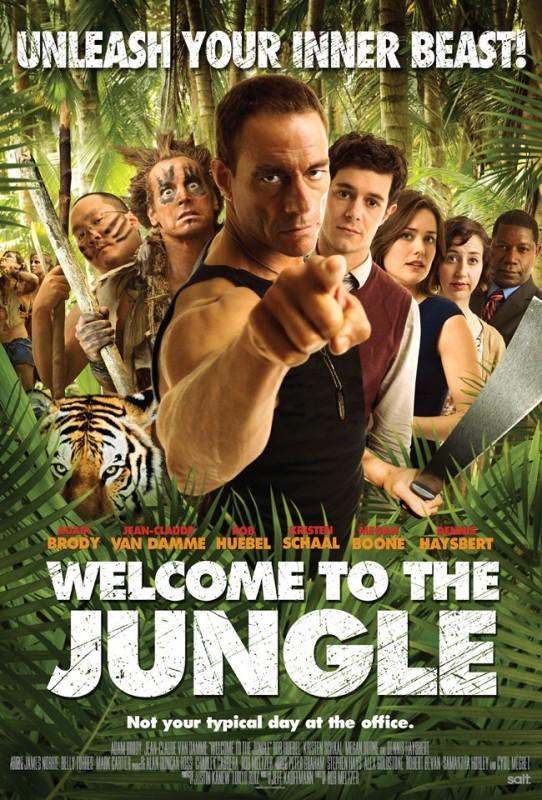 Welcome to the Jungle: la locandina del film