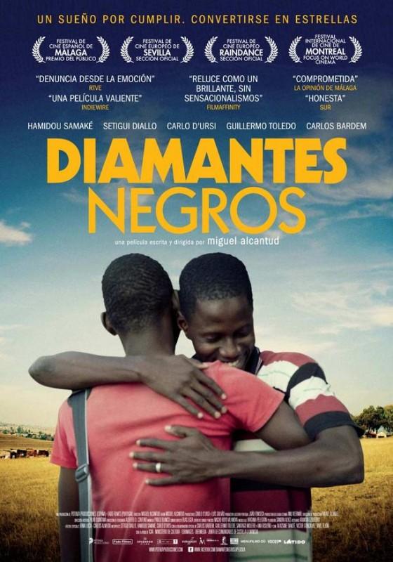 Diamantes negros: la locandina del film