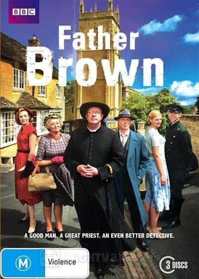La locandina di Padre Brown