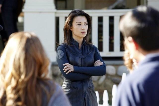 Agents of S.H.I.E.L.D.: Ming-Na in un momento dell'episodio Repairs