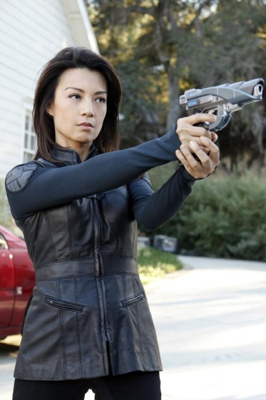 Agents of S.H.I.E.L.D.: Ming-Na in una foto di scena dell'episodio Repairs