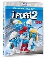 La copertina di I Puffi 2 in 3D (blu-ray)
