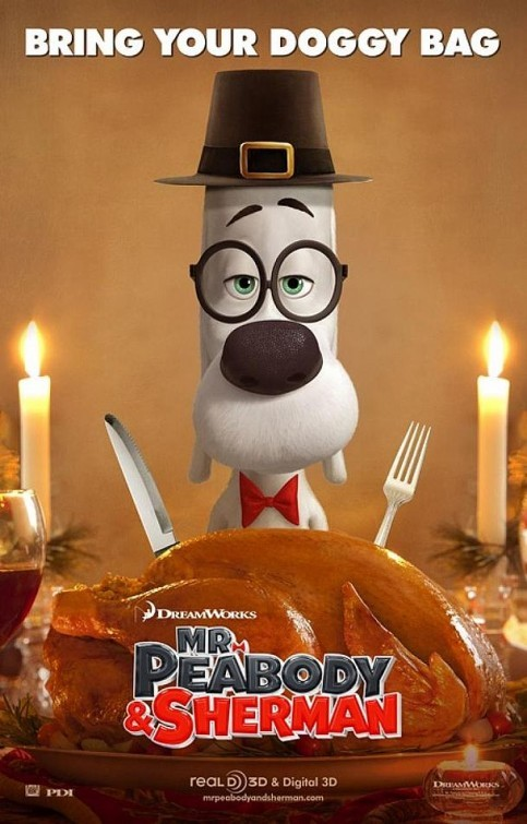 Mr. Peabody & Sherman: nuovo poster USA
