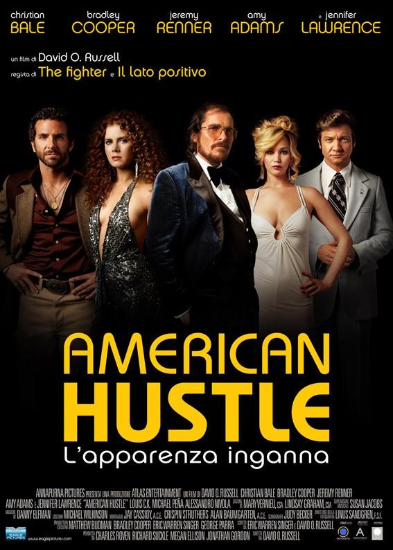American Hustle: la locandina italiana