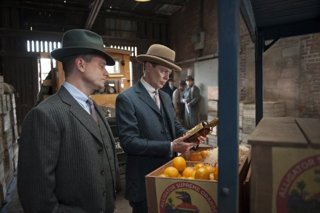 Boardwalk Empire: Steve Buscemi e Shea Whigham nell'episodio The Old Ship of Zion