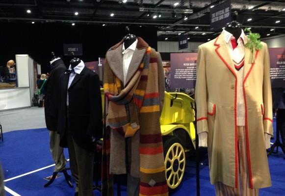 Doctor Who Official 50th Celebration: Costumi di scena