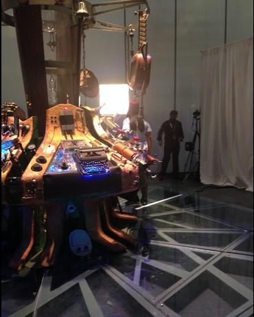 Doctor Who Official 50th Celebration: Una scenografia