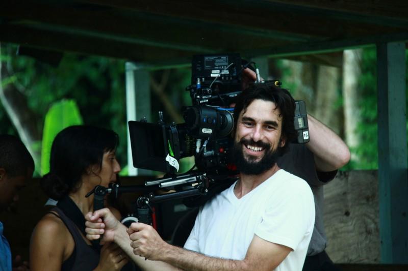 Blue Caprice: il regista Alexandre Moors al lavoro sul set con la sua troupe