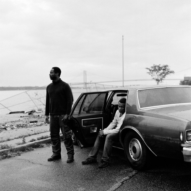 Blue Caprice: Isaiah Washington e Tequan Richmond in una scena del film