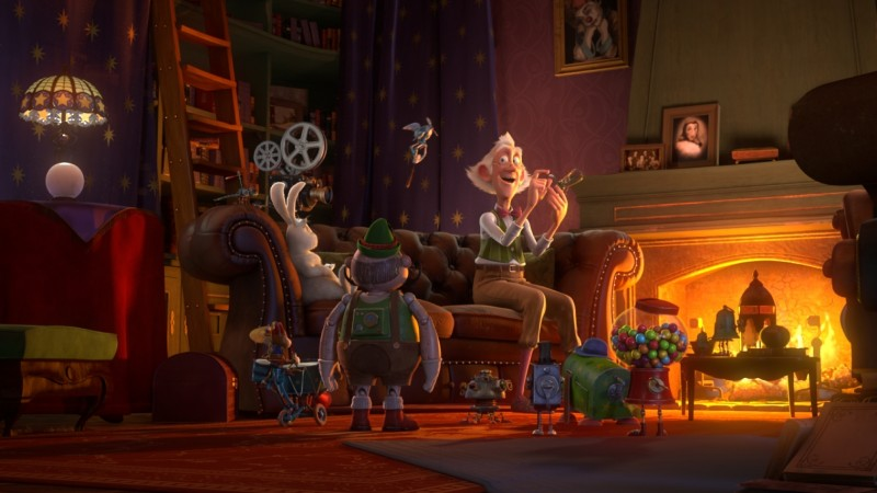 Il castello magico: il simpatico vecchietto con la passione per la magia circondato dalle sue creature