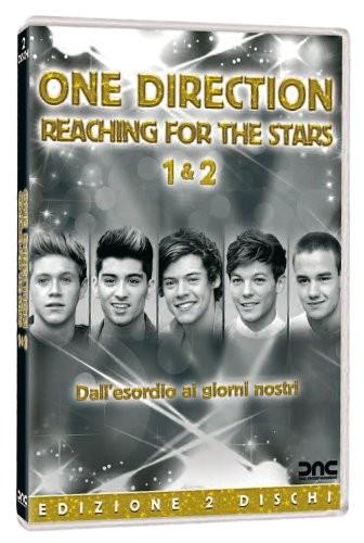 La copertina di One Direction: Reaching for the Stars 1 & 2 (dvd)