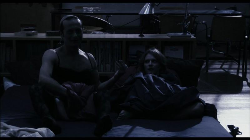 La voce: Rocco Papaleo e Antonia Liskova in una scena