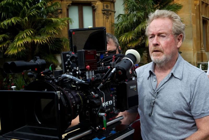 The Counselor - Il procuratore - Il regista Ridley Scott sul set
