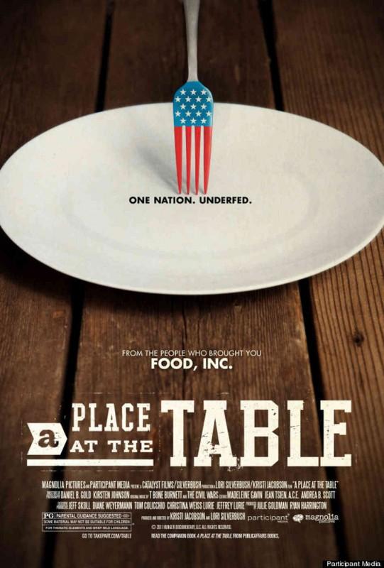 A Place at the Table: la locandina del film