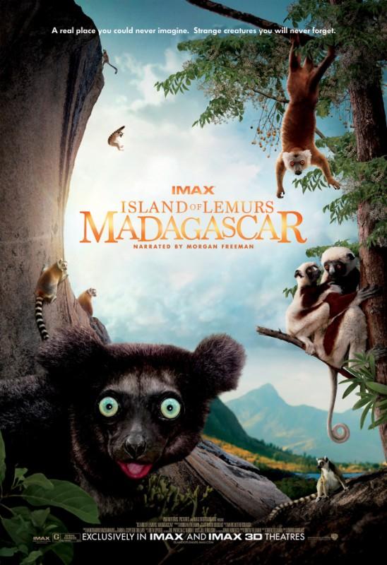Island of Lemurs: Madagascar: la locandina del film
