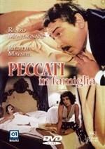 La copertina di Peccati in famiglia (dvd)