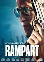 La copertina di Rampart (dvd)