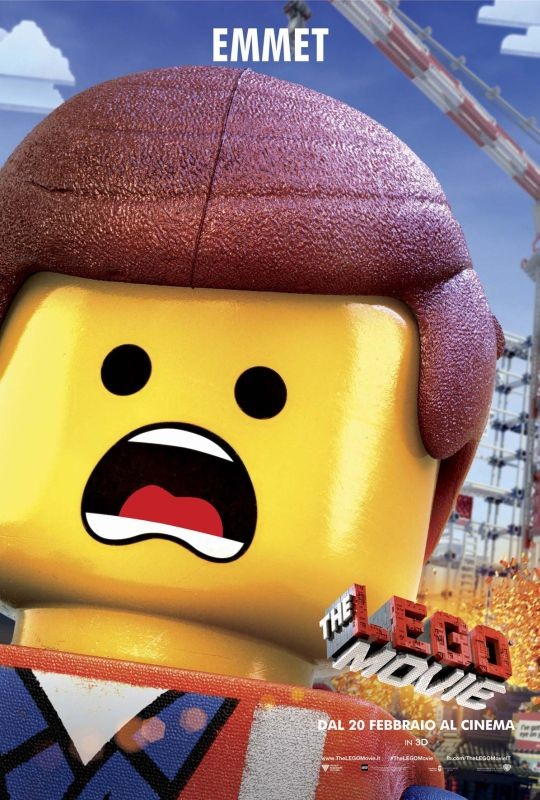 The Lego Movie: il character poster italiano di Emmett