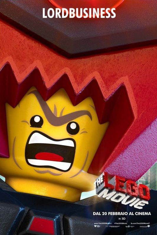 The Lego Movie: il character poster italiano di Lord Business