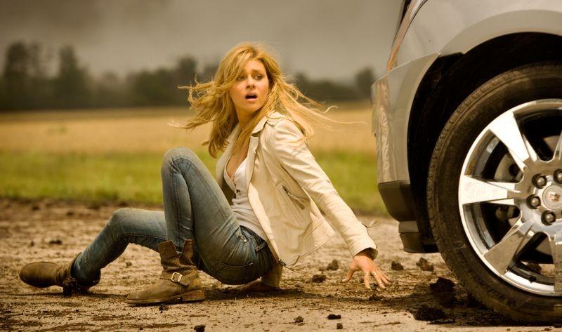 Transformers: Age of Extinction: Nicola Peltz in una scena del film