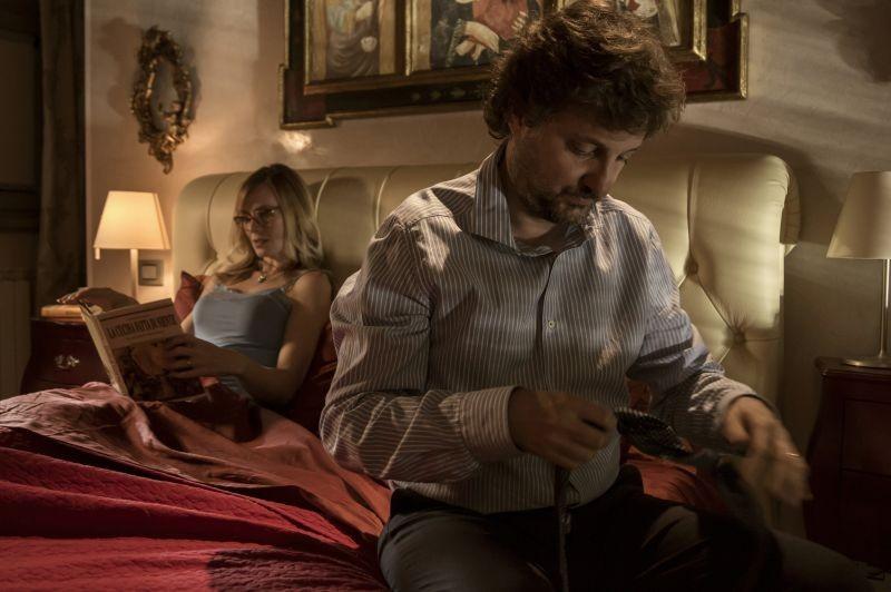 Un fantastico via vai: Leonardo Pieraccioni in una scena del film insieme a Serena Autieri