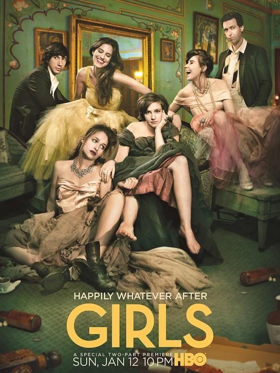 Girls: un poster della stagione 3