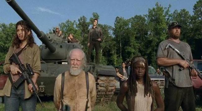 The Walking Dead: David Morrissey, Danai Gurira e Scott Wilson nell'episodio Indietro non si torna