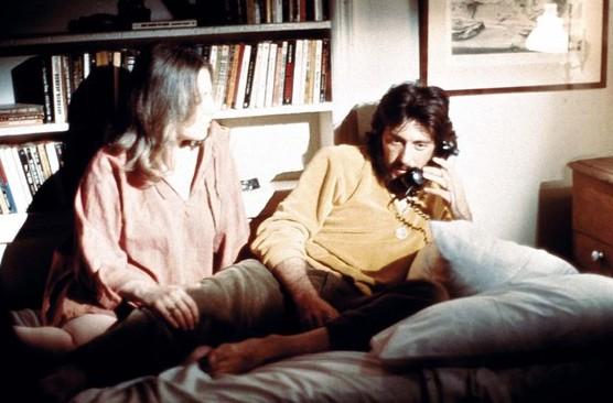 Al Pacino in Serpico con Barbara Eda-young