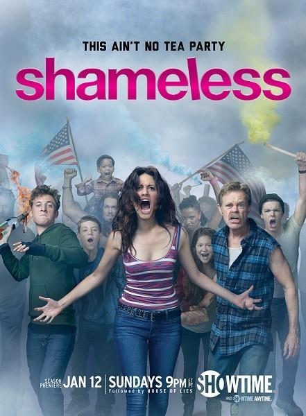 Shameless: un poster della stagione 4