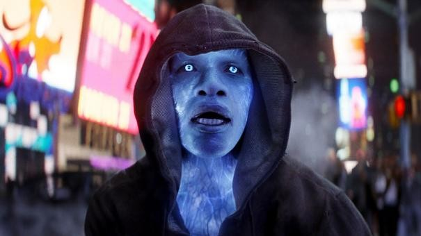The Amazing Spider-Man 2: irriconoscibile Jamie Foxx nei panni di Electro