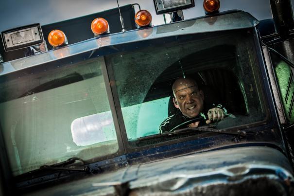 The Amazing Spider-Man 2: Paul Giamatti alla guida di un camion