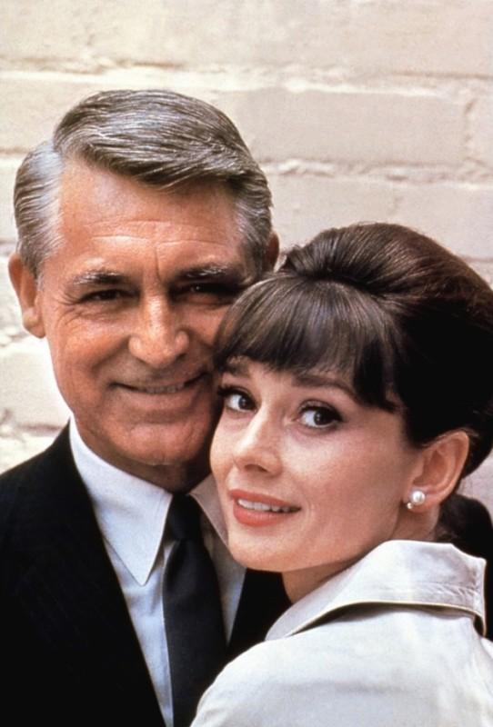 Cary Gran e Audrey Hepburn, i due protagonisti di Sciarada
