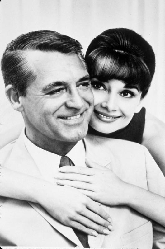 Cary Gran e Audrey Hepburn in Charade del 1963