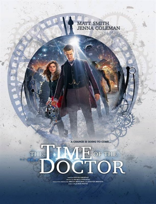 Doctor Who: un poster promozionale per l'episodio natalizio The Time Of The Doctor