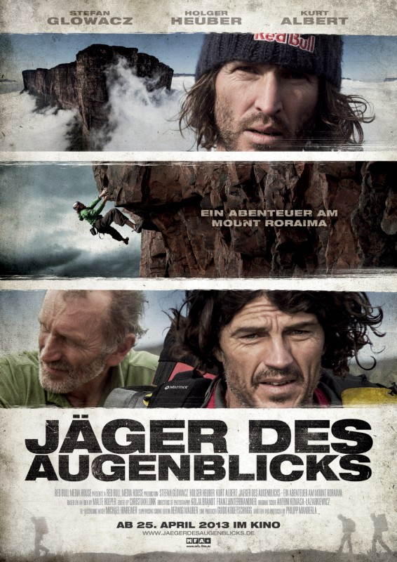 Jäger des Augenblicks - Ein Abenteuer am Mount Roraima: la locandina del film