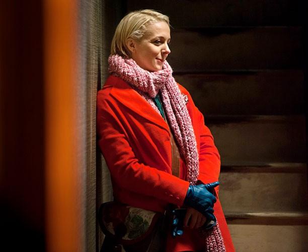 Sherlock: Amanda Abbingotn in un'immagine della terza stagione della serie