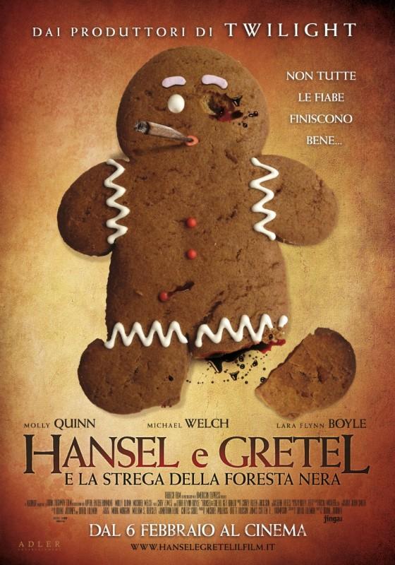 Hansel e Gretel e la strega della foresta nera: la locandina italiana