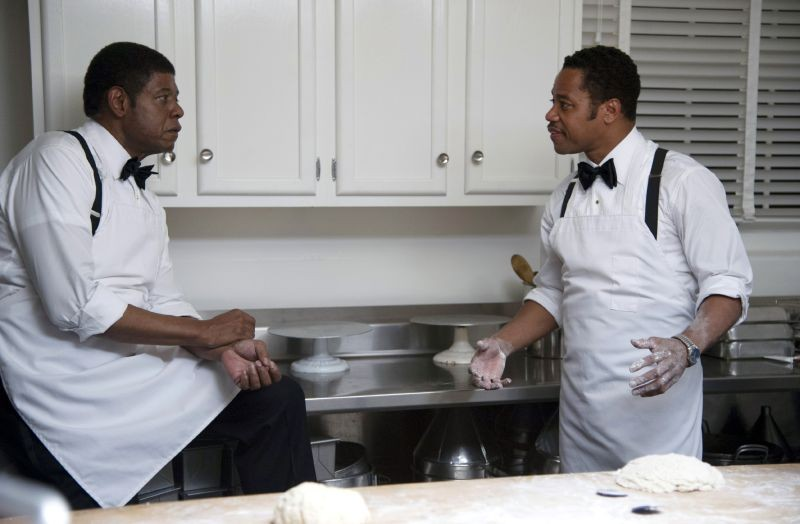 The Butler - Un maggiordomo alla Casa Bianca: Cuba Gooding Jr. e Forest Whitaker in una scena del film