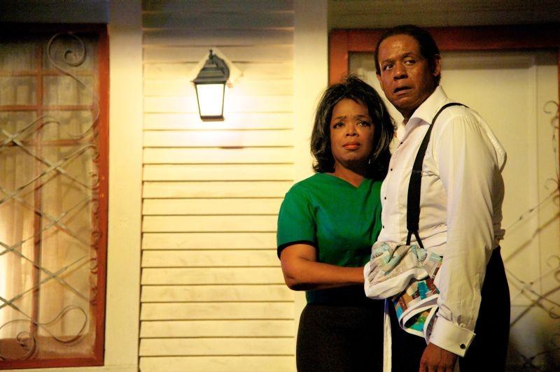 The Butler - Un maggiordomo alla Casa Bianca: Oprah Winfrey con Forest Whitaker in una scena del film